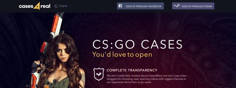 legit cs go case box open skins site