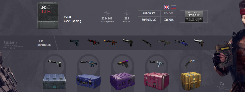 is case club legit scam skin unboxing service