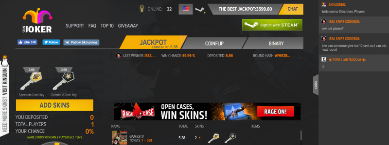 is skinjoker com legit betting site?