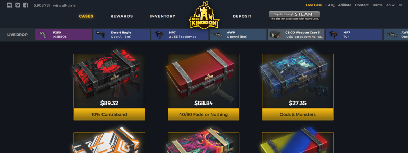 is csgokingdom com legit?