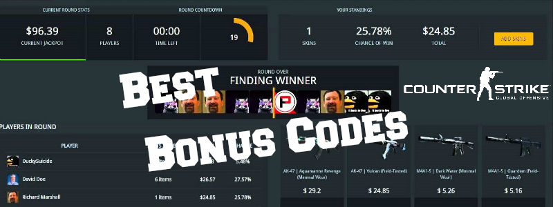 cs go betting promo codes free skins