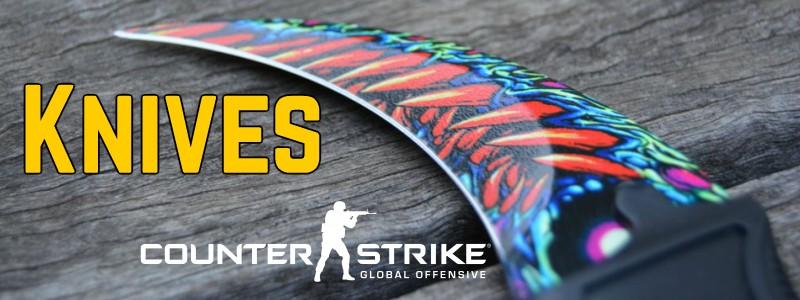counter strike skins knives