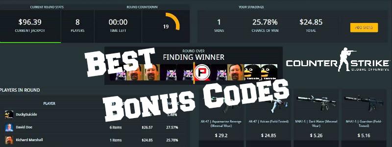 cs go betting promo codes free skins